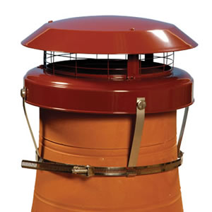 Colt Top 2 Chimney Cowl - Static Multifuel Anti-down Draught Cowl