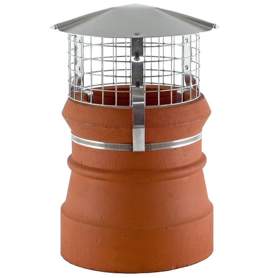 Standard Stainless Steel Bird Guard Chimney Cowl And Bird