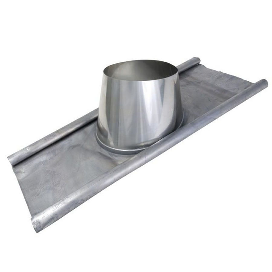 Lead Roof Outlet 5 25 Degree For Twin Wall Flue Pipe