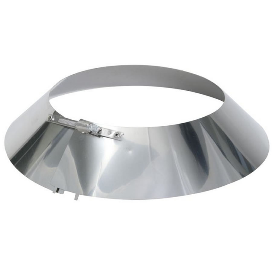 Storm Collar For Twin Wall Flue Pipe