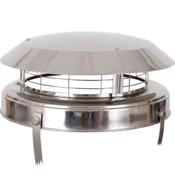 Colt Top 2 Stainless Steel Chimney Cowl