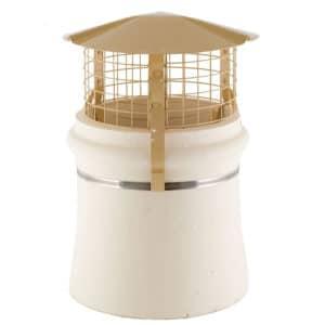 Brewer Chimney Cowl Bird and Rain Guard - High Top