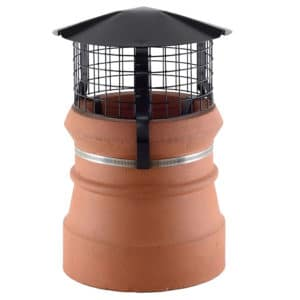 Brewer Chimney Cowl Bird and Rain Guard - High Top