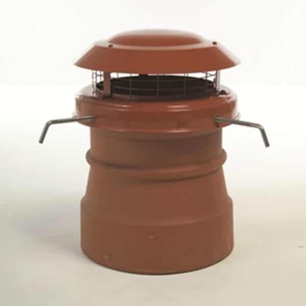 Junior Terracotta Chimney Cowl from chimney Cowl Products - Bot Fixing