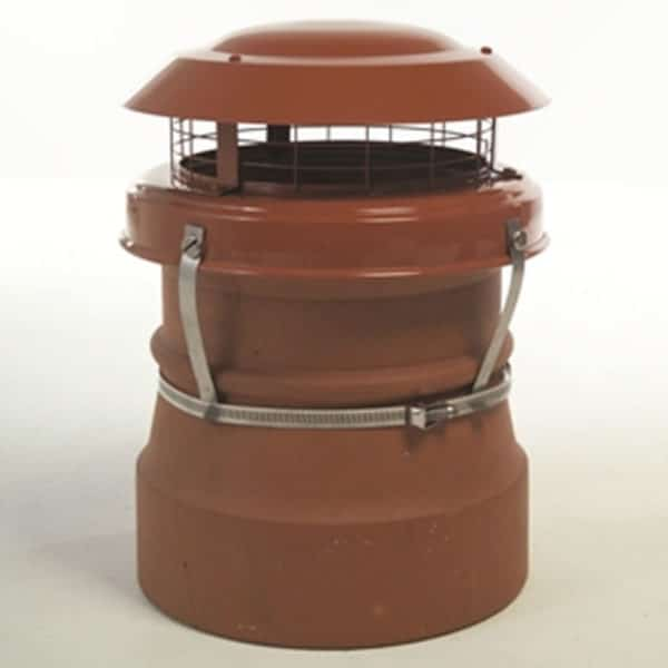 Junior Terracotta Chimney Cowl from chimney Cowl Products