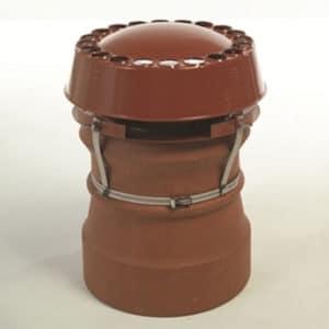 All Purpose Multi fuel Anti Downdraught Chimney Cowl - Strap Fixing