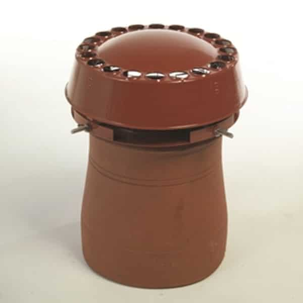 Chimney Cowl Products Anti Downdraught Chimney Cowl - Terracotta Finish