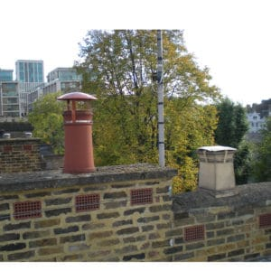 Standard Chimney Rain Cowl and Bird Guard and Square Disused Chimney Cap