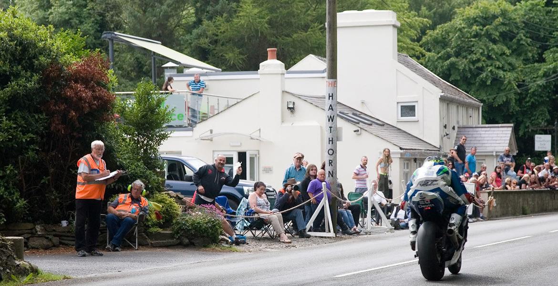 Disused Chimney Cap - Isle of Man TT Sited on Hawtorn Pub