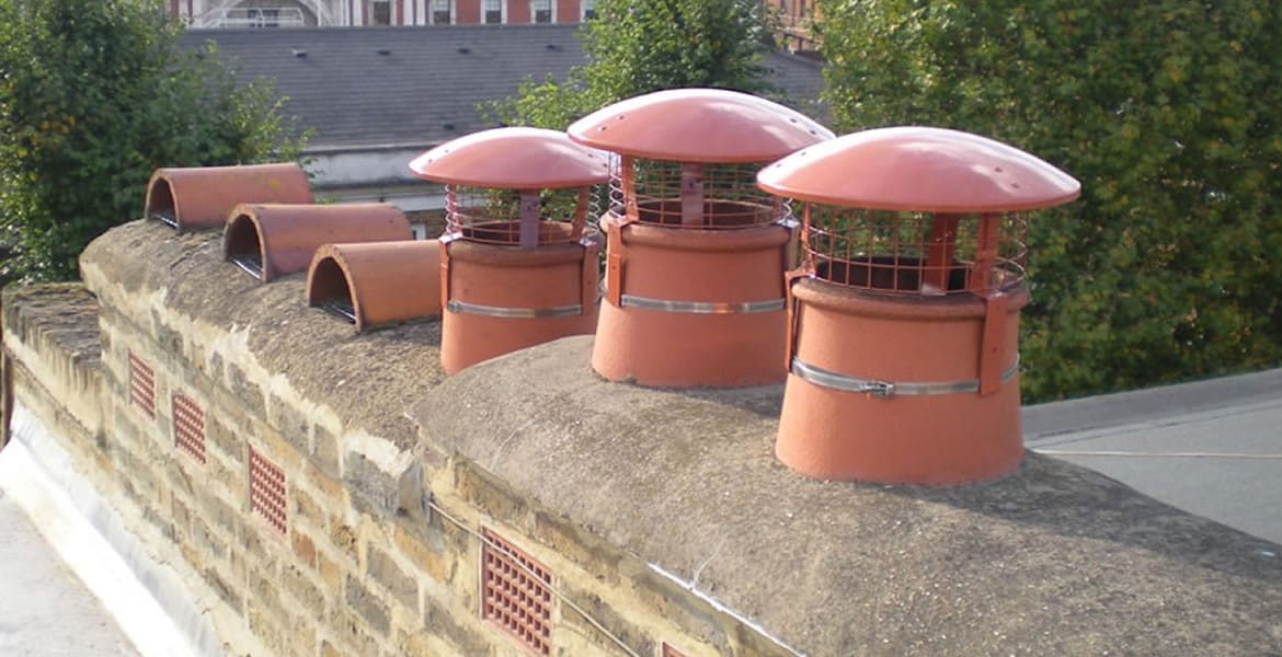 Chimney Cowl Products Bird Guards