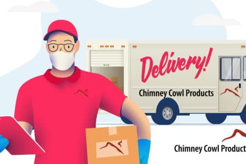 Chimney Cowl Products Delivery Service during Covid - 19