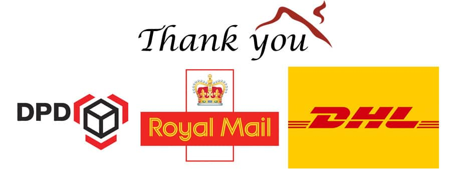 Thank you to our courier providers