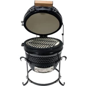 Kamado Portable Ceramic Grill and Smoker 13 inch BBQ