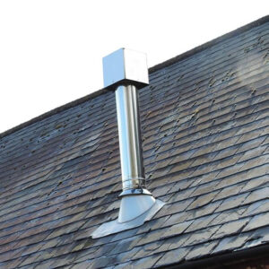 Flue Cube Anti Down Draught Chimney Cowl from Chimney Cowl Products
