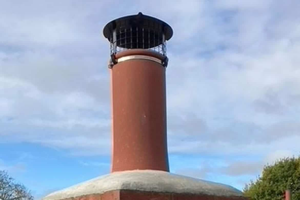 Chimney Bird and Rain Guard Cowl with Strap Fixing